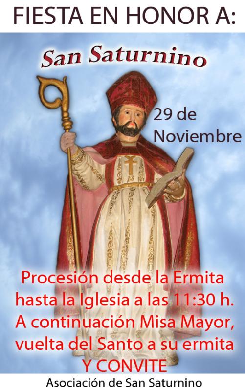 San Saturnino saldrá de su ermita después de varias décadas sin hacerlo