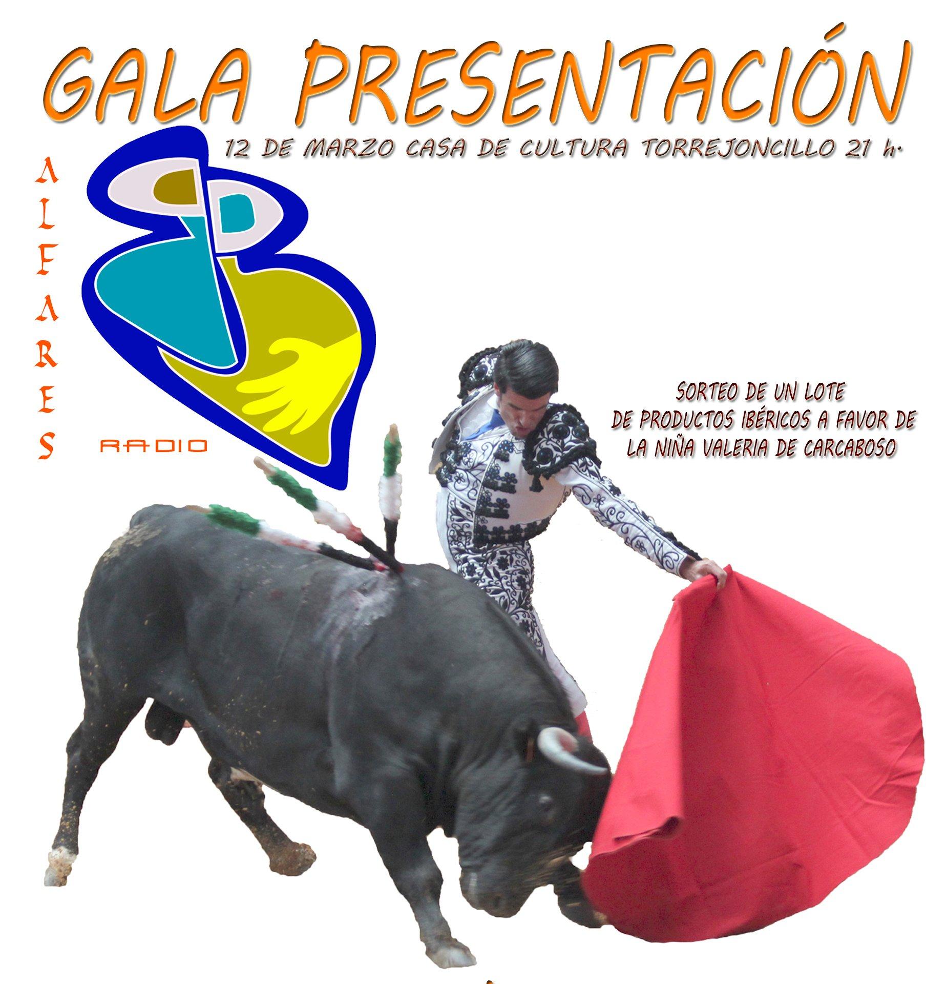 Gala – Homenaje a Emilio de Justo y apoyo a Valeria en la presentación de Radio Alfares
