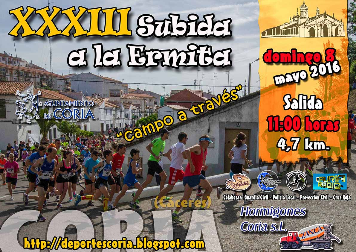 "XXXIII Subida a la Ermita ""Campo a Través"""