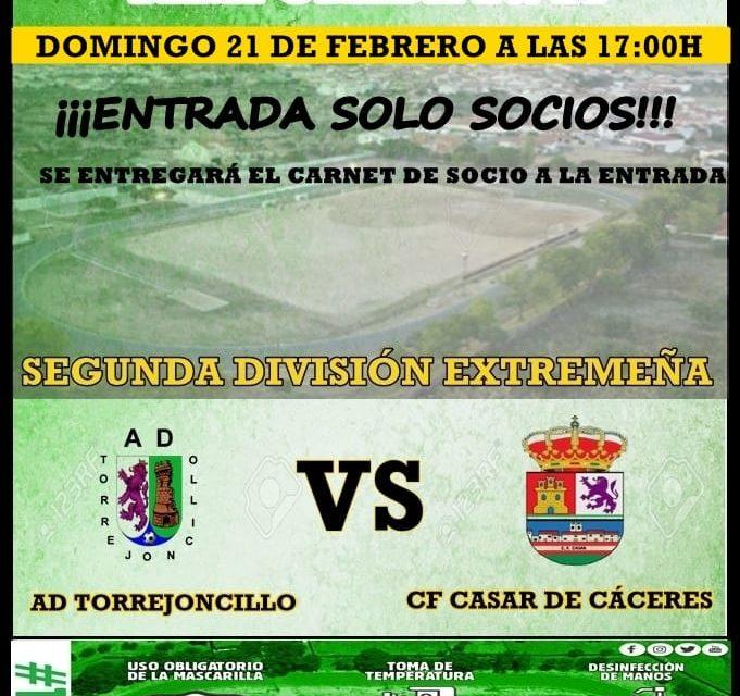 AD Torrejoncillo-CF Casar de Cáceres