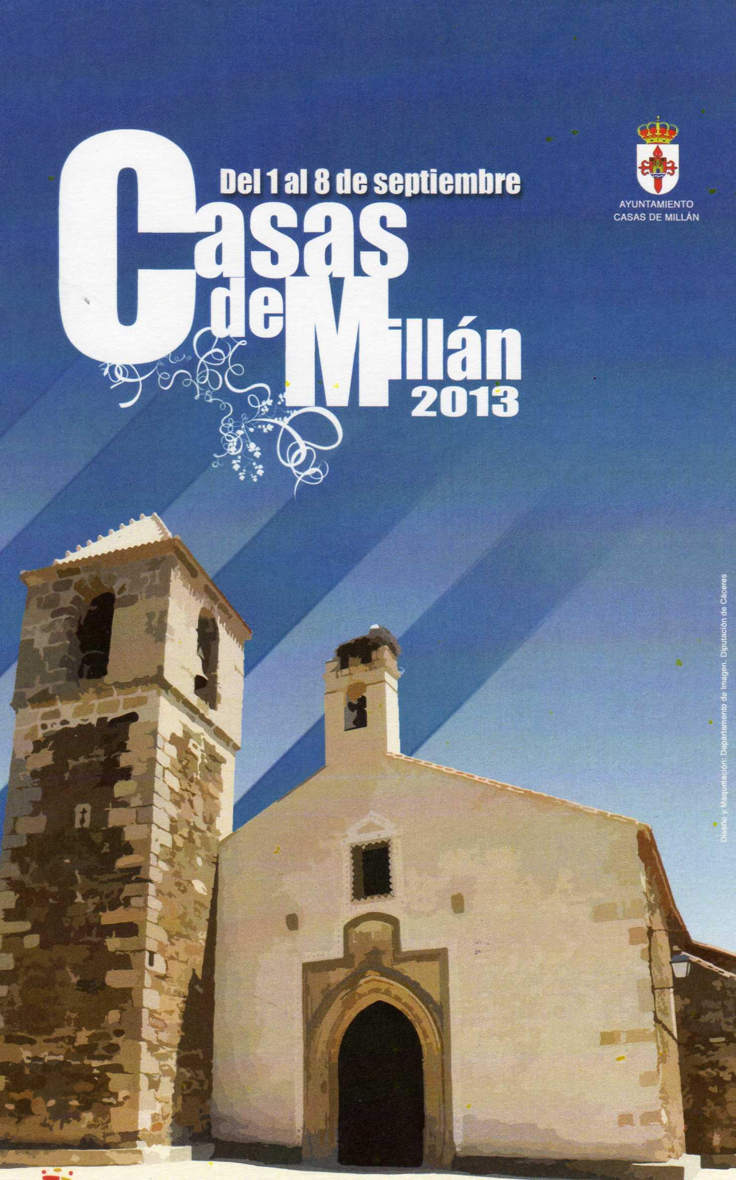Casas de Millán celebra sus fiestas populares