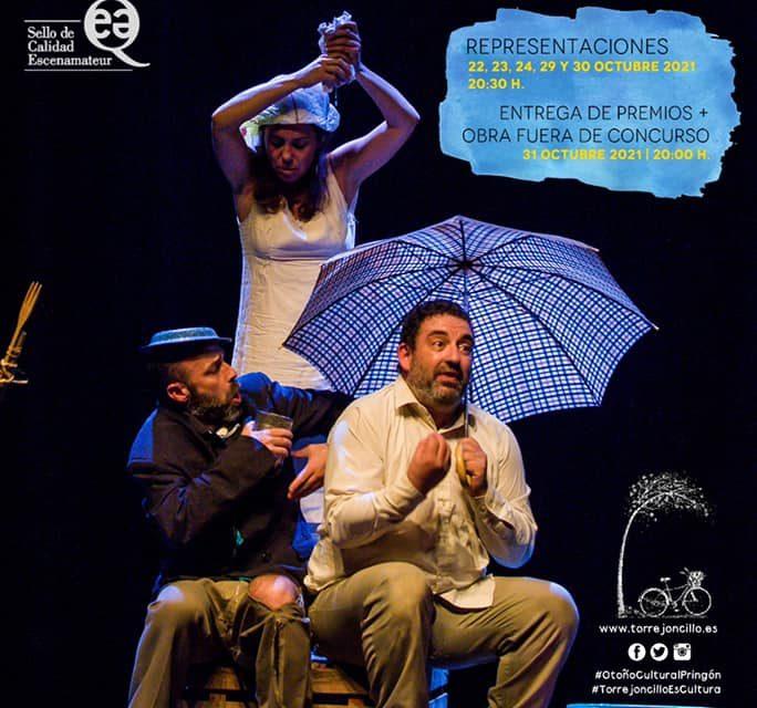 """XXIX FESTIVAL DE TEATRO AFICIONADO """"RAÚL MORENO MOLERO"""" DE TORREJONCILLO"""