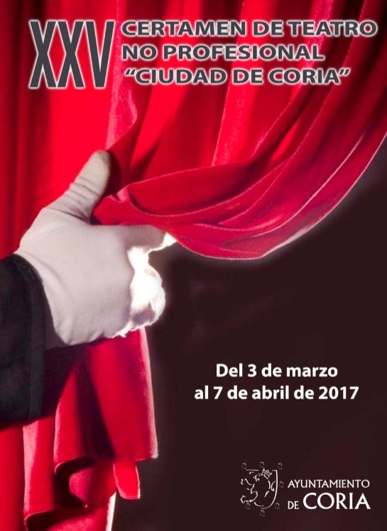 Clausura del XXV Certamen de Teatro no profesional «Ciudad de Coria»