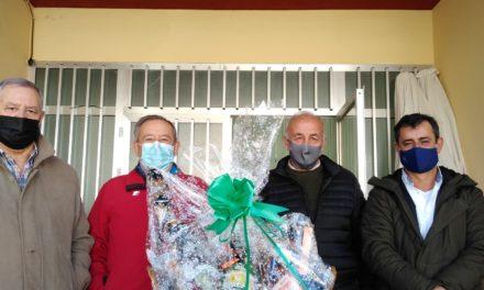 La cesta de Navidad de la Asociación Tercera Edad ya tiene propietario