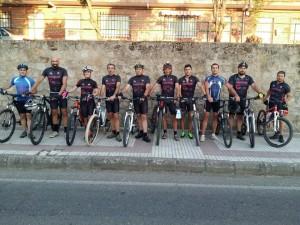 Ciclistas Torrejoncillo