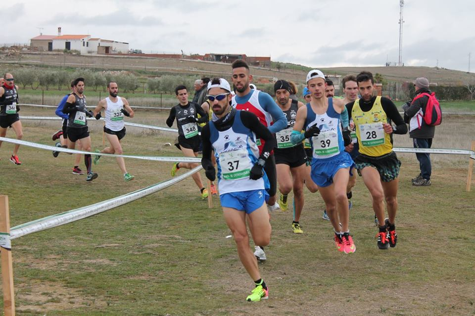 Espectacular el papel del Club Atletismo Andiajoa de Torrejoncillo en el Campeonato de Extremadura de Cross