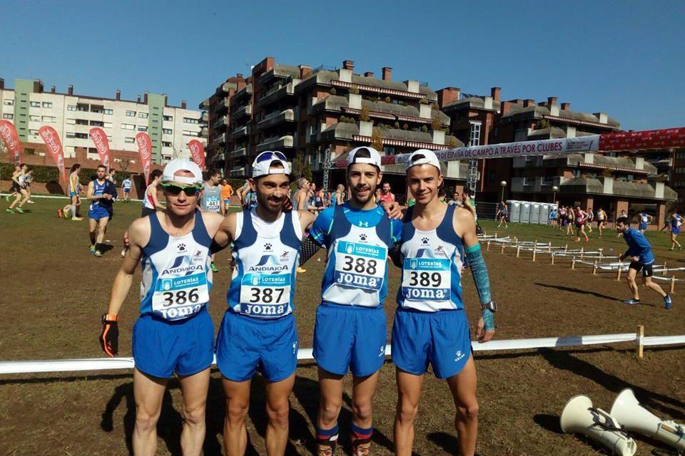 Muy buena representación atlética pringona en el Campeonato de España en Gijón