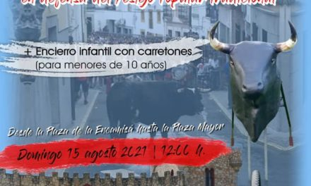 PASEO TAURINO TORREJONCILLANO + ENCIERRO INFANTIL