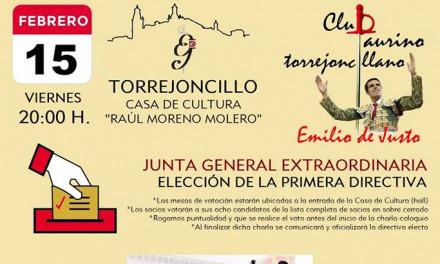 JUNTA GENERAL EXTRAORDINARIA Y PRESENTACIÓN DE LA CORRIDA DE VISTALEGRE