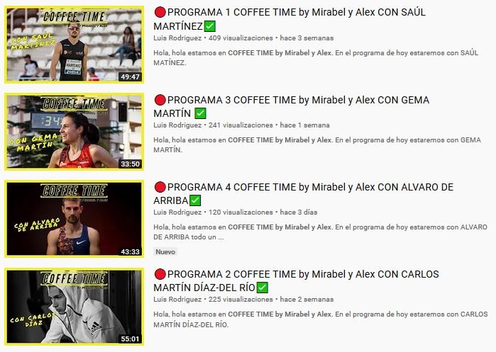 Próximo Coffee Time con Pablo Villalobos