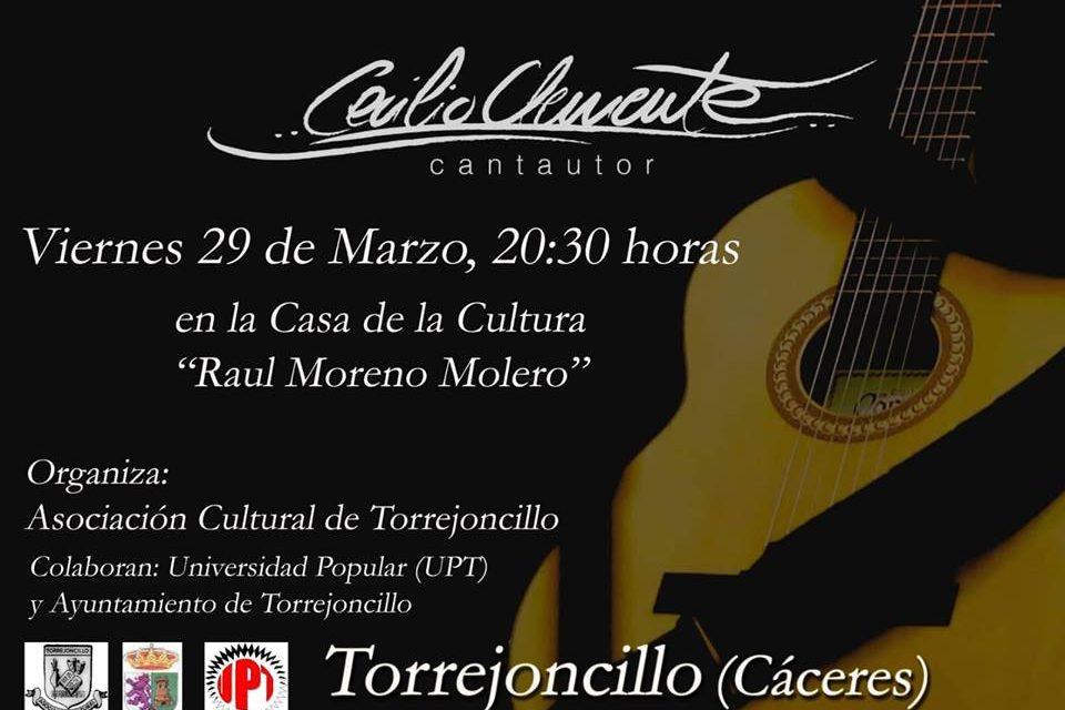 Cecilio Clemente en concierto