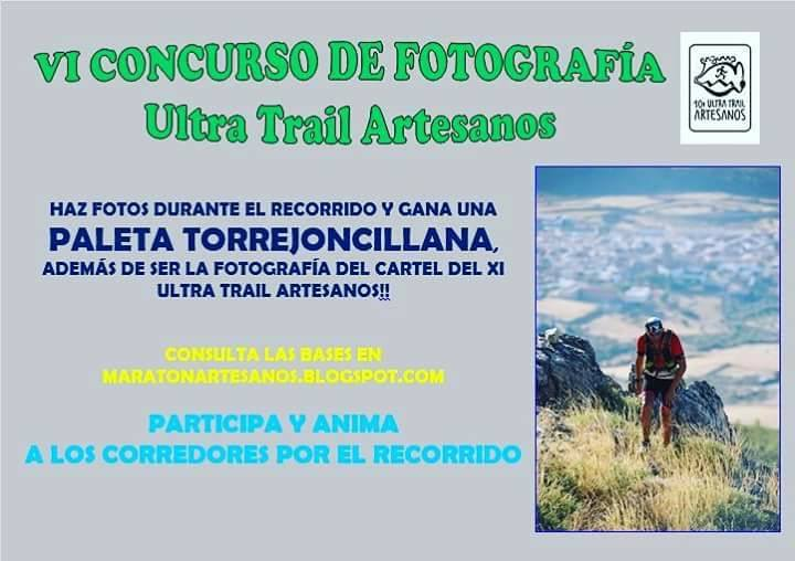 Bases Concurso Fotográfico X Trail Artesanos