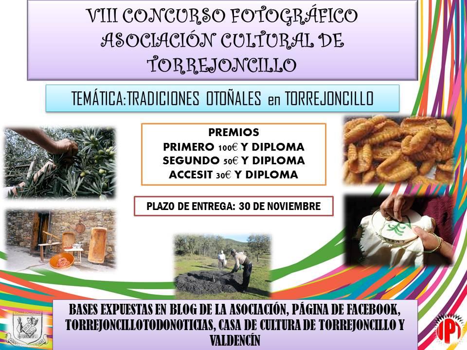 VIII Concurso Fotográfico Asociación Cultural de Torrejoncillo