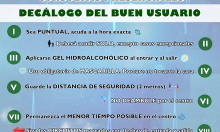 CONSULTAS SANITARIAS PRESENCIALES EN TORREJONCILLO Y VALDENCÍN