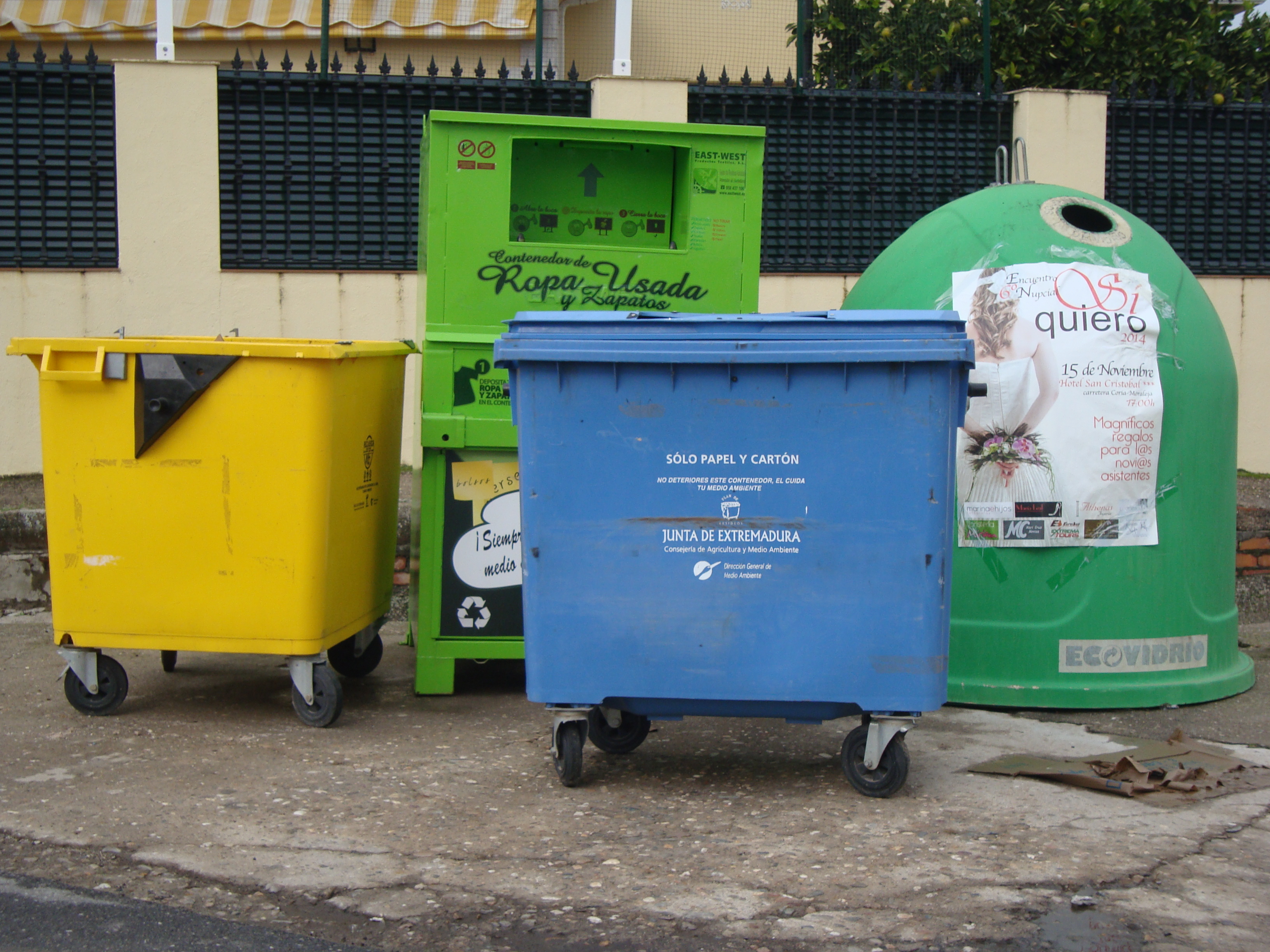 Horario de basuras en verano