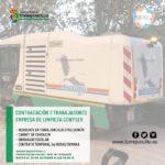 OFERTA DE DOS PUESTOS DE TRABAJO DE PEÓN DE LIMPIEZA