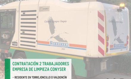 NOTA INFORMATIVA PUESTOS DE PEÓN DE LIMPIEZA