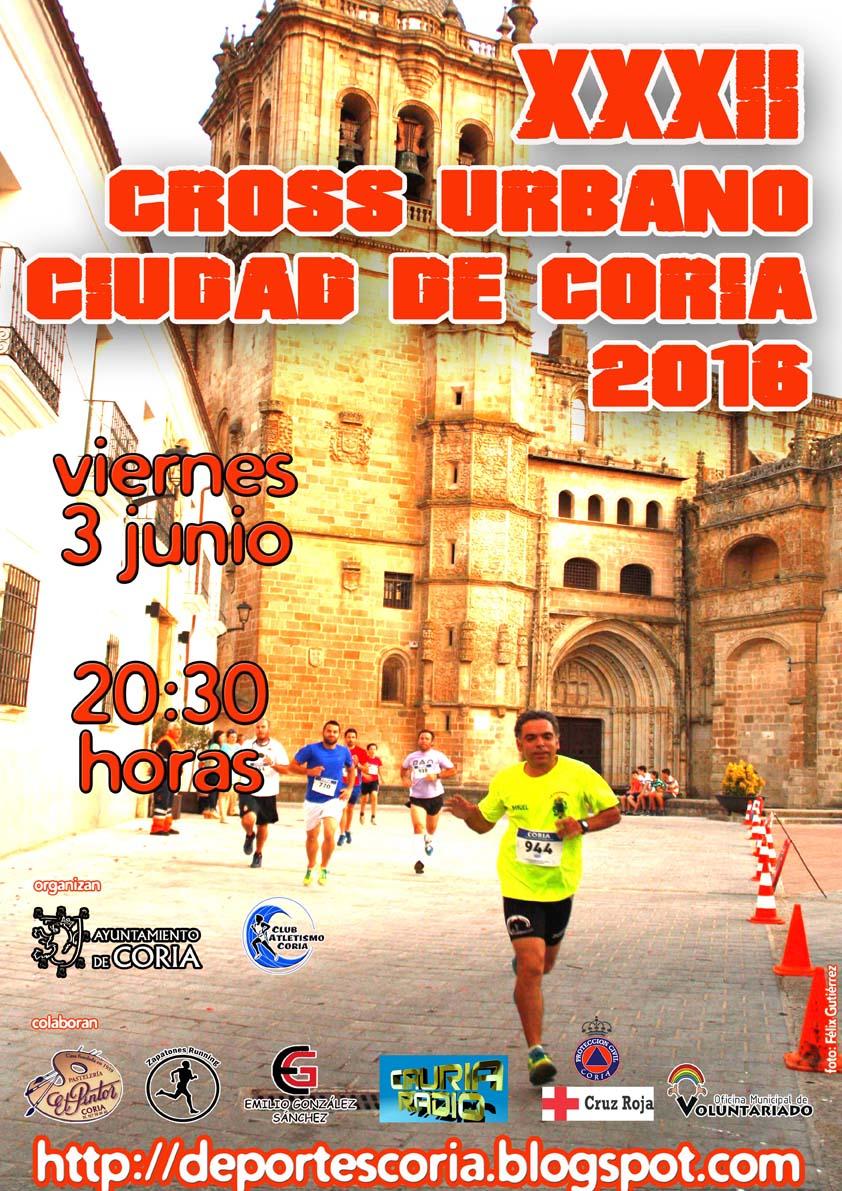 "Apertura de inscripciones del XXXII Cross Urbano ""Ciudad de Coria"""