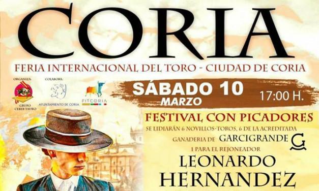 Emilio de Justo en la Feria Internacional del Toro de Ciudad de Coria