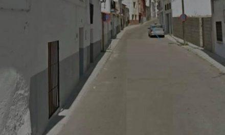 PROHIBIDO APARCAR EN TRAMO DE LA CALLE CORIA