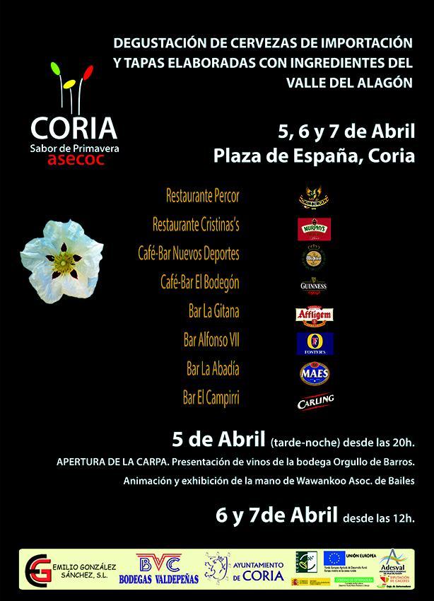 """Asecoc organiza """"Coria, Sabor de Primavera"""" del 5 al 7 de abril"""