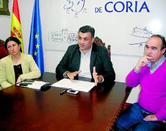 Coria y sus pedanías recibirán 320.000 euros de la diputación