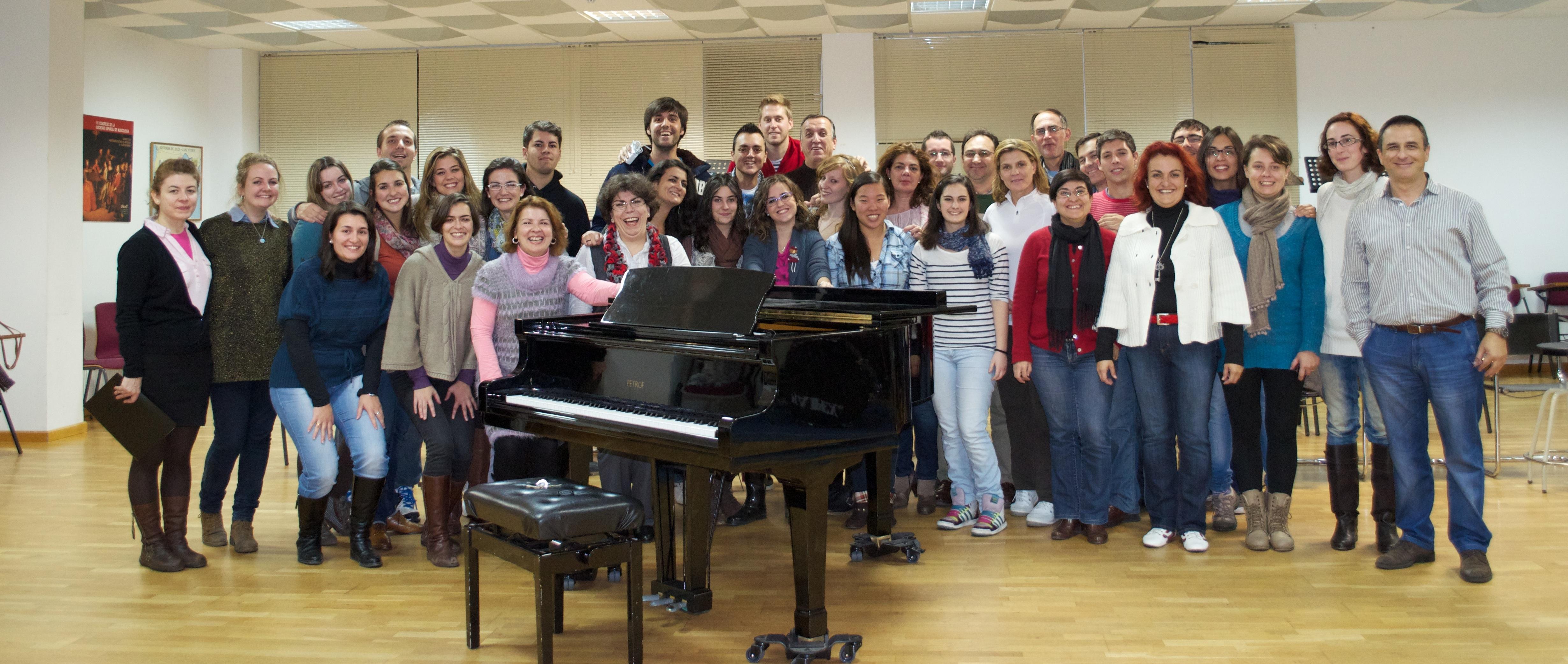 El Coro de la UEX que dirige Fran Rodilla inaugura los XIV Cursos Internacionales de Verano