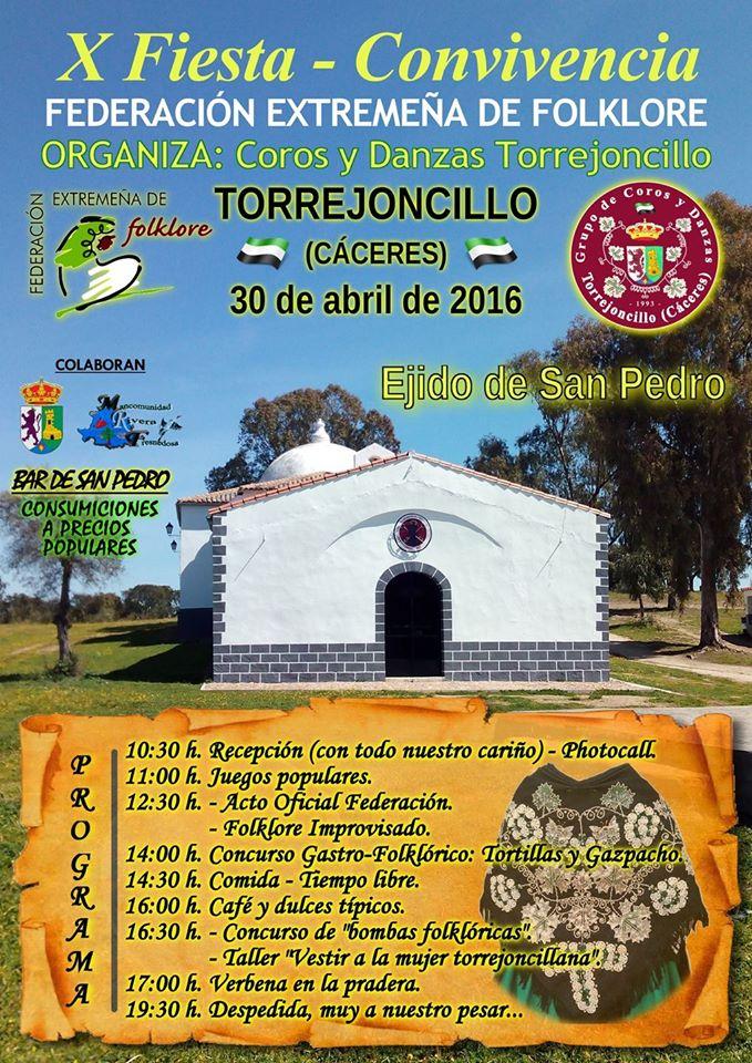 La X Convivencia de Coros y Danzas Extremeños en Torrejoncillo