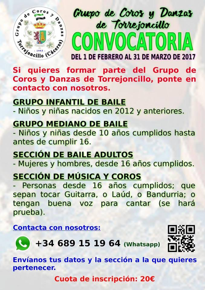 Coros y Danzas de Torrejoncillo