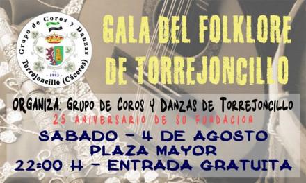 Comenzamos con el XXV Aniversario el Grupo de Coros y Danzas de Torrejoncillo