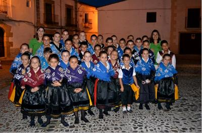 Doblete del Grupo de Coros y Danzas de Torrejoncillo