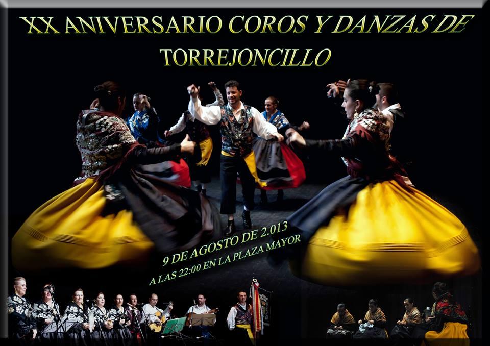 Sábado de Mercado Artesano y  Festival de Folklore en Torrejoncillo