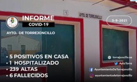 INFORME DE SITUACIÓN COVID-19 a 03/09/2021