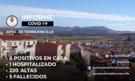 INFORME DE SITUACIÓN COVID-19 a 4/8/2021
