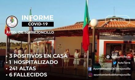 INFORME DE SITUACIÓN COVID-19 a 06/09/2021
