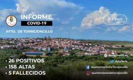 INFORME COVID-19 a 07/07/2021