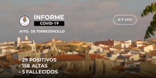 INFORME COVID-19 a 08/07/2021