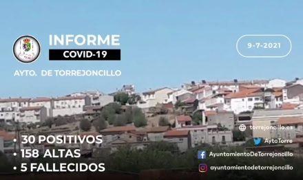 INFORME COVID-19 a 09/07/2021