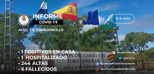 INFORME DE SITUACIÓN COVID-19 a 09/09/2021