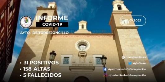 INFORME COVID-19 a 10/07/2021