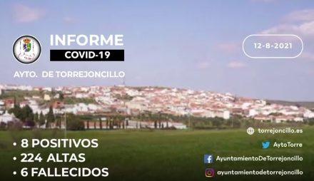 INFORME DE SITUACIÓN COVID-19 a 12/08/2021