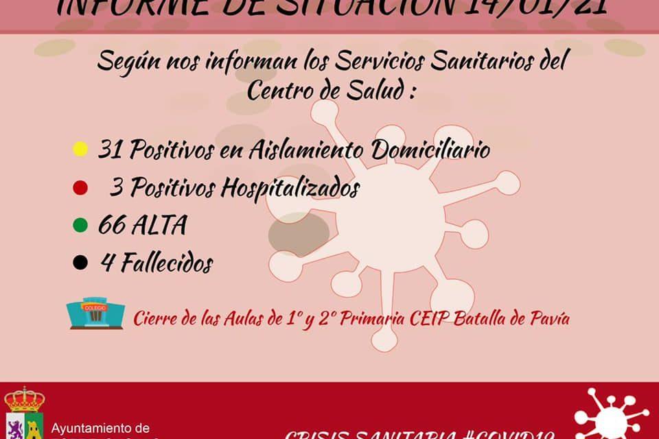 INFORME DE SITUACIÓN COVID-19 a 14/01/2021