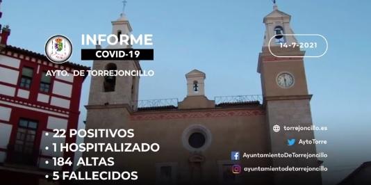 INFORME DE SITUACIÓN COVID-19 a 14/07/2021
