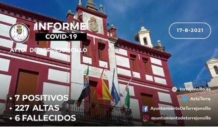 INFORME DE SITUACIÓN COVID-19 a 17/08/2021
