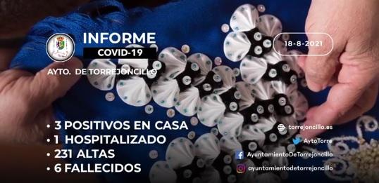 INFORME DE SITUACIÓN COVID-19 a 18/08/2021