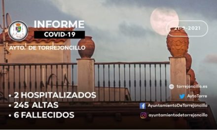 INFORME DE SITUACIÓN COVID-19 a 21/09/2021