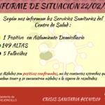 INFORME DE SITUACIÓN COVID-19 a 22/02/2021