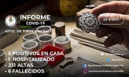 INFORME DE SITUACIÓN COVID-19 a 22/08/2021