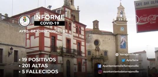 INFORME DE SITUACIÓN COVID-19 a 23/07/2021.