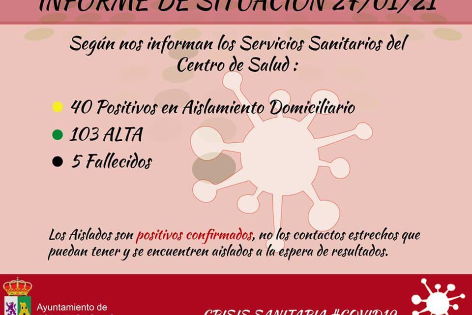 INFORME DE SITUACIÓN COVID-19 a 27/01/2021